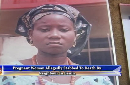 pregnant woman stabbed death benin city