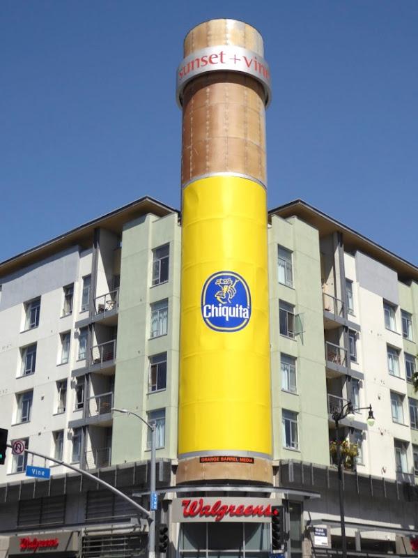 Chiquita banana logo billboard