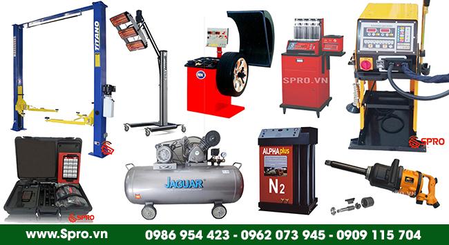 SPRO.VN phân phối các sản phẩm sử dụng trong Gara