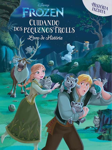 Frozen Livro de História Cuidando dos Pequenos