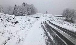 Ντύθηκαν στα λευκά τα ορεινά χωριά της Φθιώτιδας (φωτο)