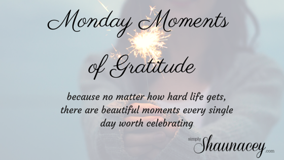 monday moments of gratitude