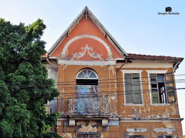 Close-up do Casarão da Antiga Fábrica de Tecidos Labor - Mooca - São Paulo