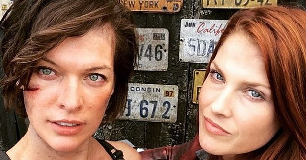 """Ruby Rose Joins Milla Jovovich Family At Resident Evil: SNEAK PEEK: Set Footage From """"Resident Evil: The Final"""