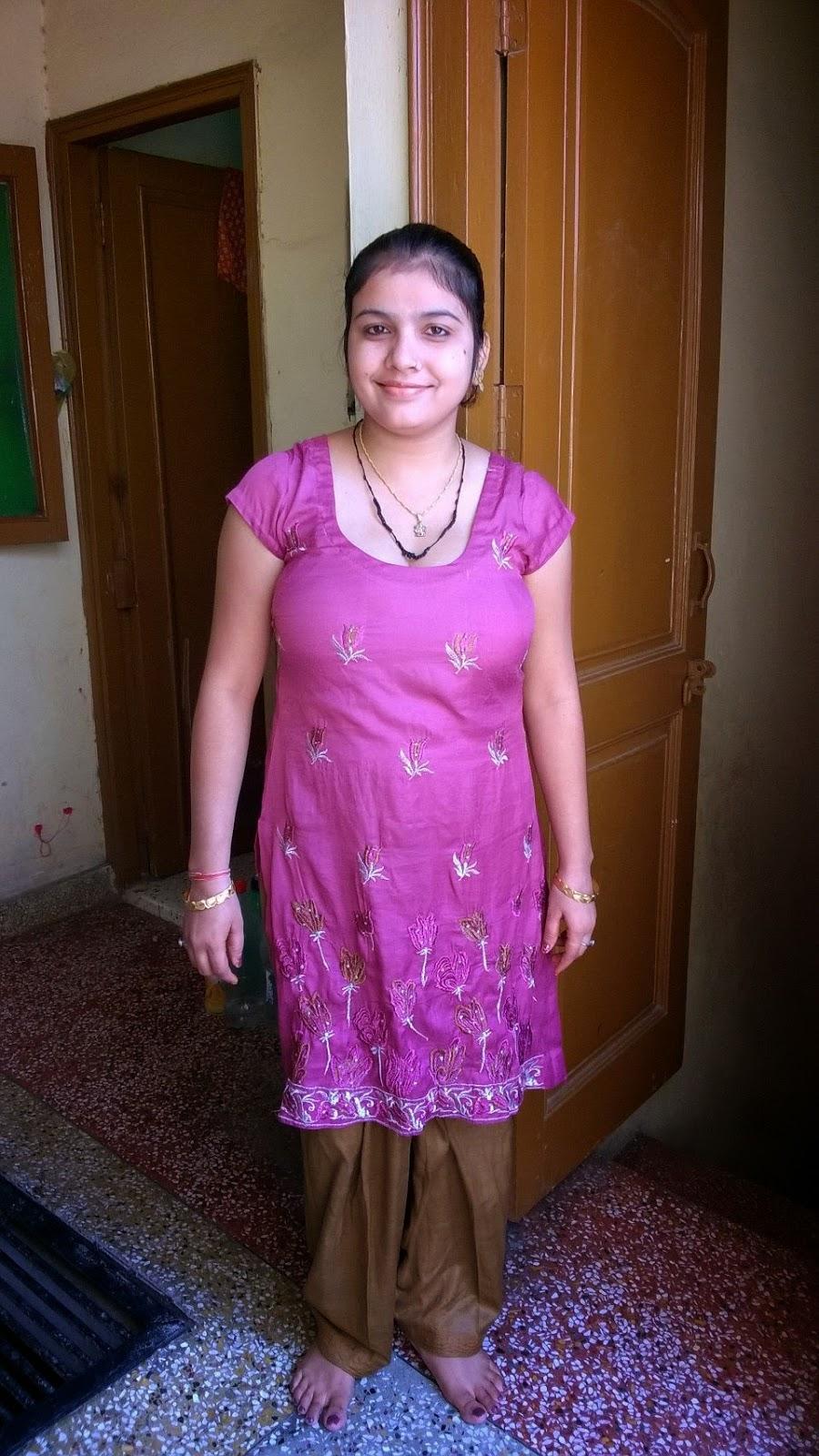 Gujarati Bhabhi Home Alone 2  Hot And Sexy-2038