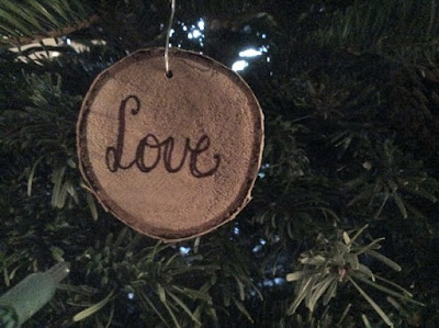 Rustic wood ornaments 3
