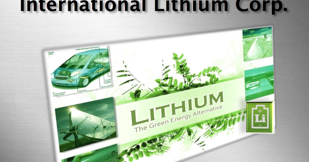 Kirill Klip International Lithium Corp And Pioneer