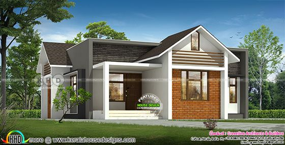 Cute budget friendly 3 bedroom home plan design