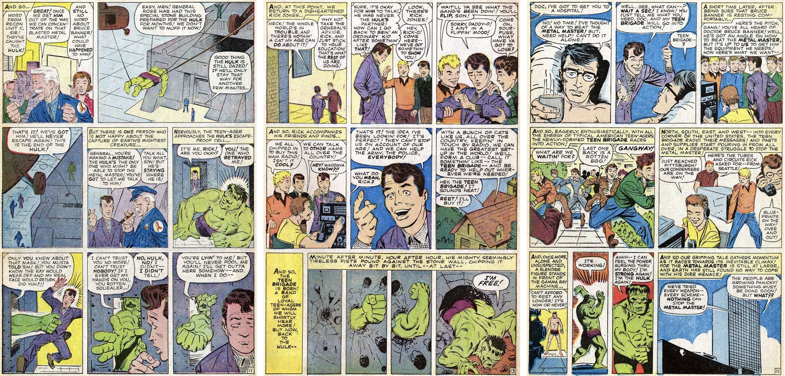 Marvel In The Silver Age Hulk Not Smash Yet