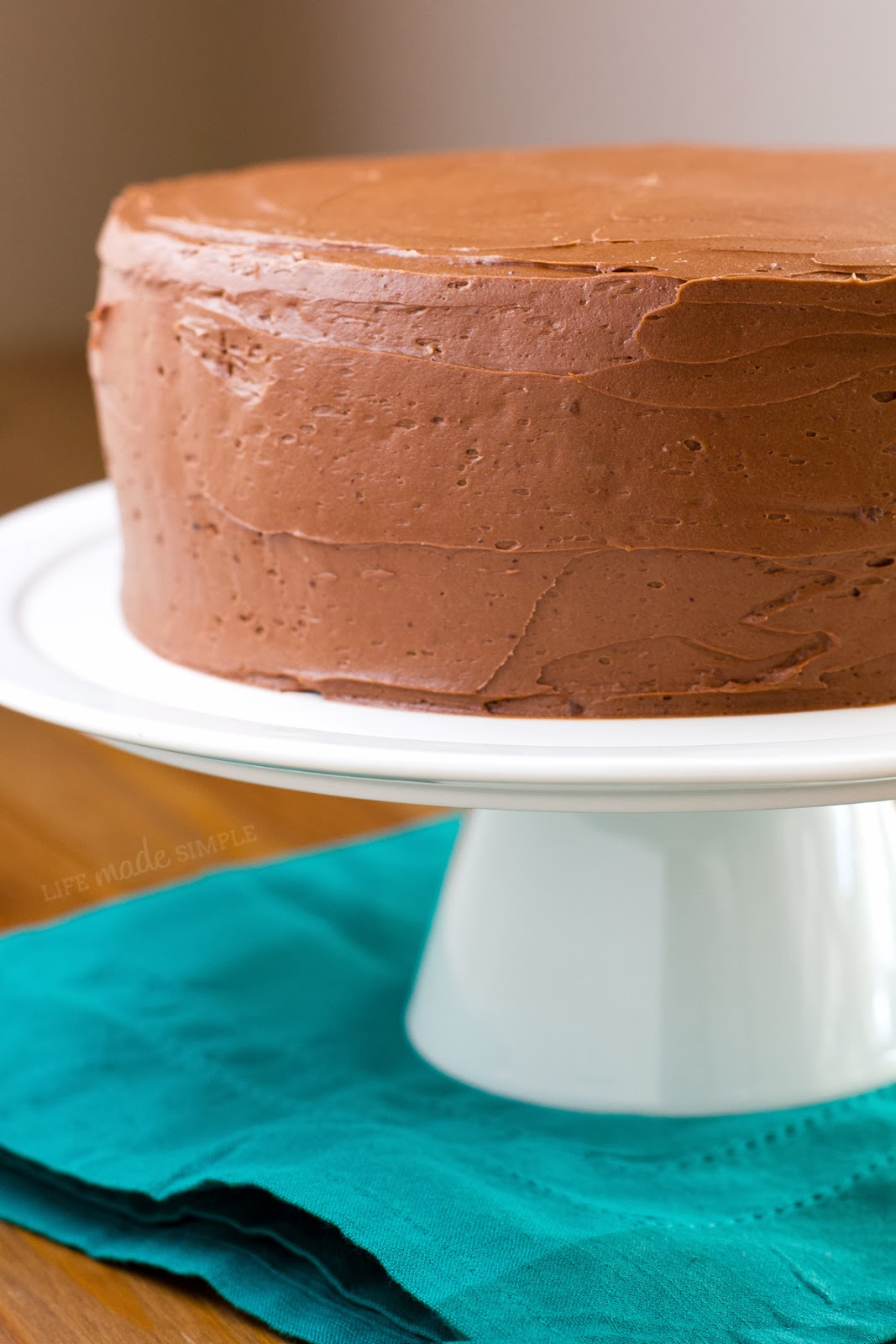 Classic Chocolate Cake | Life Made Simple
