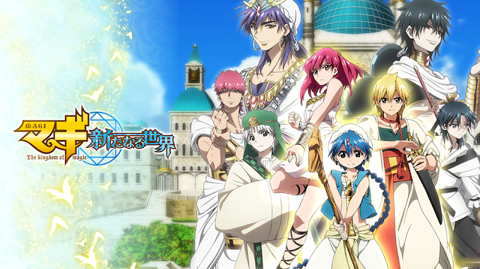 Magi: The Kingdom of Magic BD [BATCH]