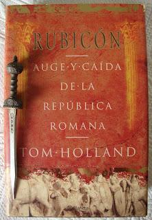 Portada del libro Rubicón, de Tom Holland