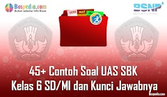 Lengkap - 45+ Contoh Soal UAS SBK Kelas 6 SD/MI dan Kunci Jawabnya Terbaru