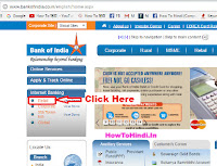 how to update mobile number in bank of india