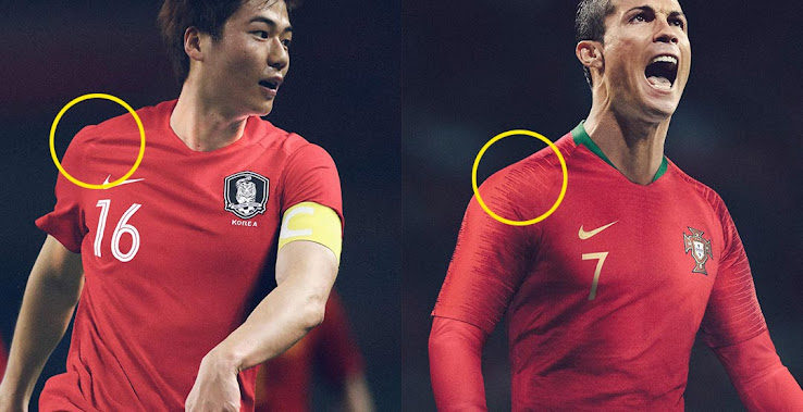 9ed0d002f Revealed  3 Country s Best Nike 2018 World Cup Kits Feature Replica Kit  Technology