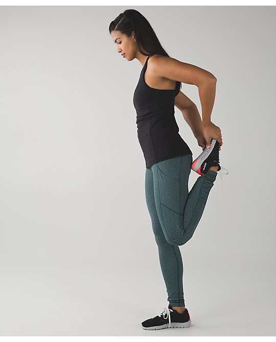 lululemon speed-tight forage-teal-herringbone