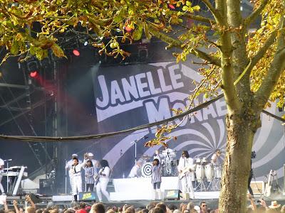 Janelle Monae festival Rock en Seine 2014