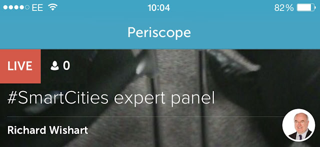 Twitter Periscope Example