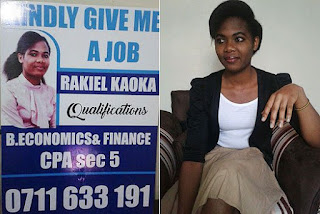 Kaoka looking for a finance and accounting job