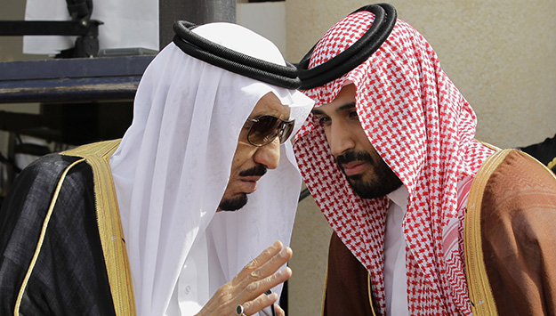 KING SALMAN WITH NEW CROWN PRINCE