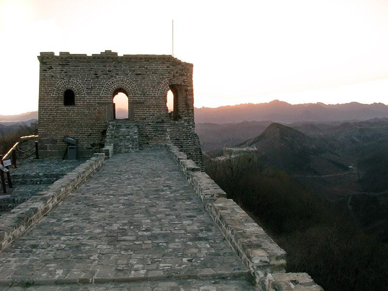 Sur la Grande Muraille à Simatai