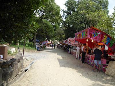 機物神社の七夕祭り 屋台