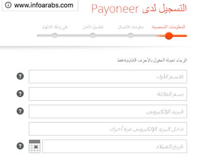 بايونير Payoneer: بطاقة ماستر كارد مجانية على الانترنت