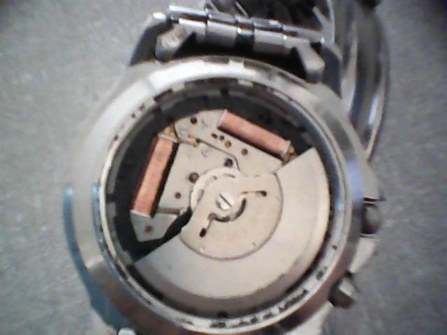 ff35404c217 Relógio Seiko Kinetic.
