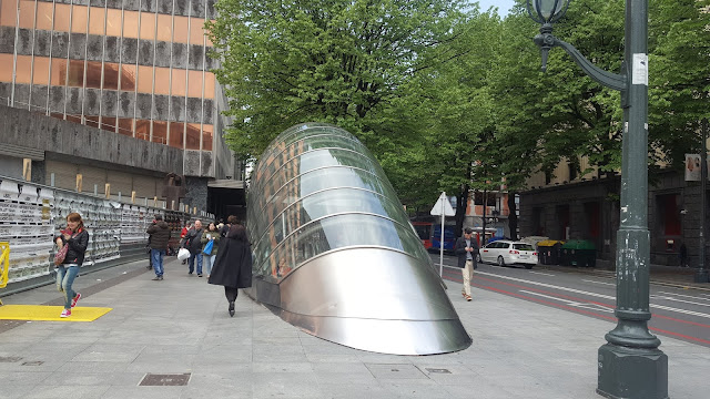Fosterito, Metro, Norman Foster, Bilbao, España, Elisa N, Blog de Viajes, Lifestyle, Travel