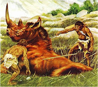 i primi ominidi vivevano di caccia