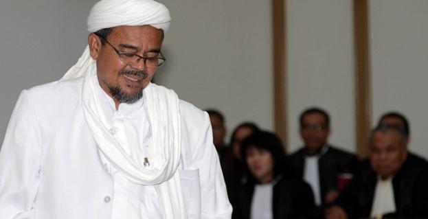 Benarkan Penembakan ke Habib Rizieq, Ketua Alumni 212: Hanya Kena Pendopo Saja