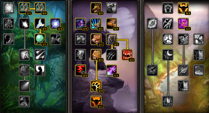 how to play feral druid 3.3.5 pvp