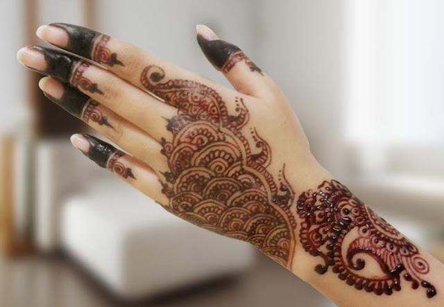 Arabic Eid Mehndi Designs