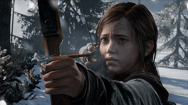 Ellie tumbuh menjadi sosok gadis yang tangguh karena keadaan yang memaksa
