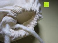 Beutel öffnen: Blissany Trocknerbälle - Der schonende Weichspüler aus 100% neuseeländischer Schafswolle