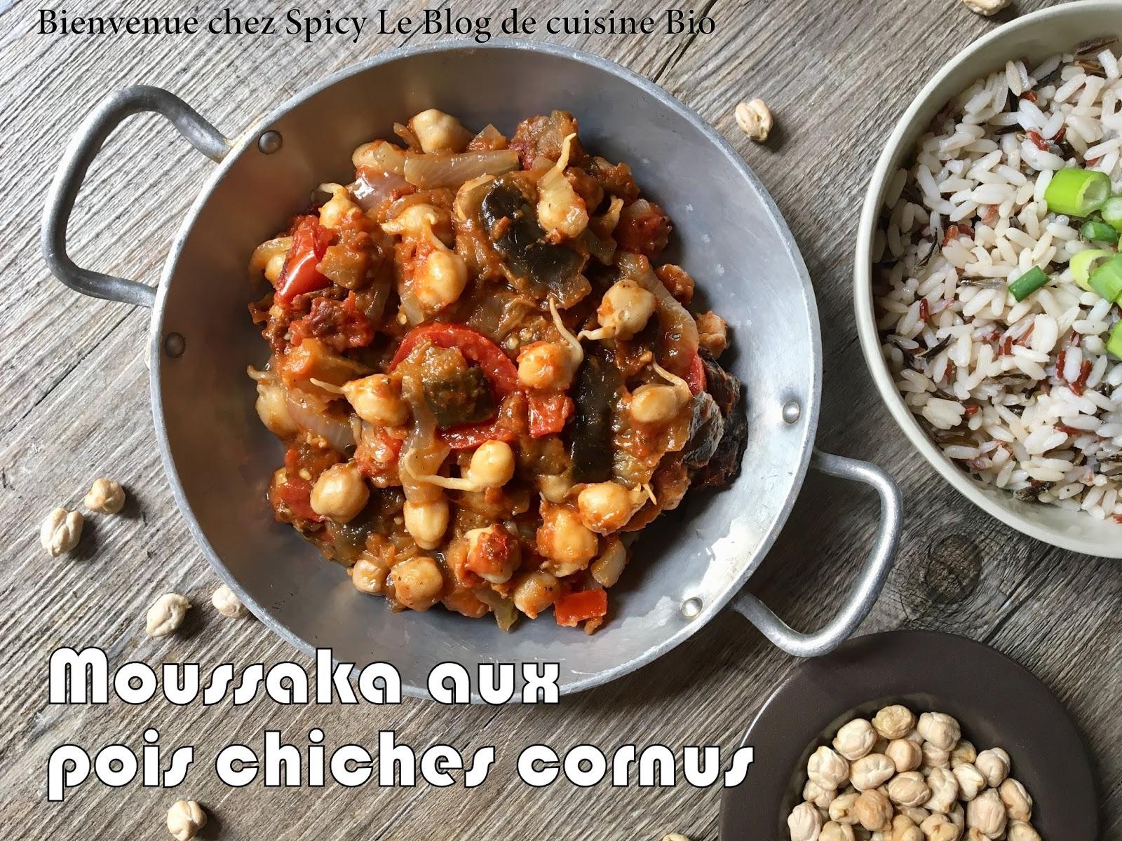 Bienvenue Chez Spicy - Cuisine végétarienne blog