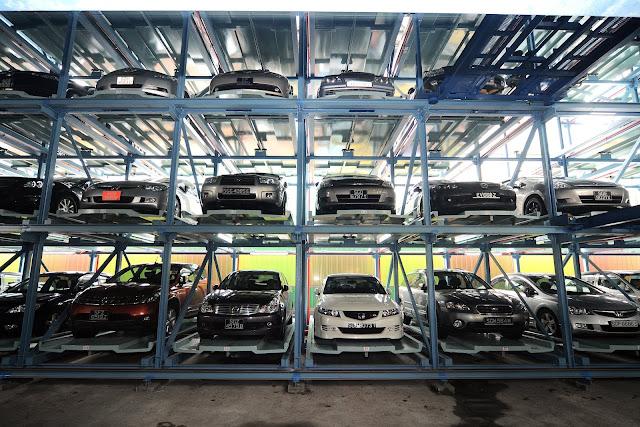 Sistem Parkir Otomatis di Indonesia