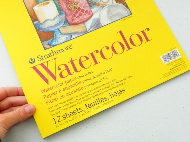 watercolor paper tips- where to buy