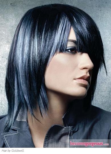 Top Hairstyle Tecnicolor Tendencias De Pelo 2012