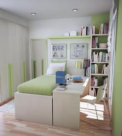 Fotos ideas y colores para decorar casas - Dormitorio pequeno juvenil ...