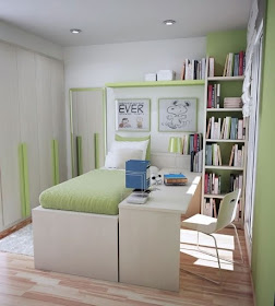Fotos ideas para decorar casas - Dormitorio pequeno juvenil ...