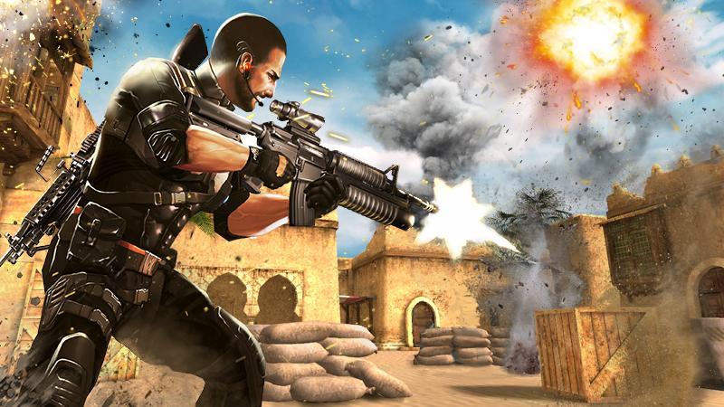 Elite Killer SWAT MOD APK terbaru