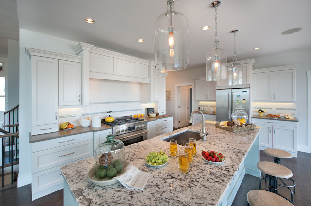 Rice Grain White Granite Countertops