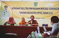 Bappeda Kabupaten Bima Adakan  Workshop Fasilitasi Penyusunan RPTK
