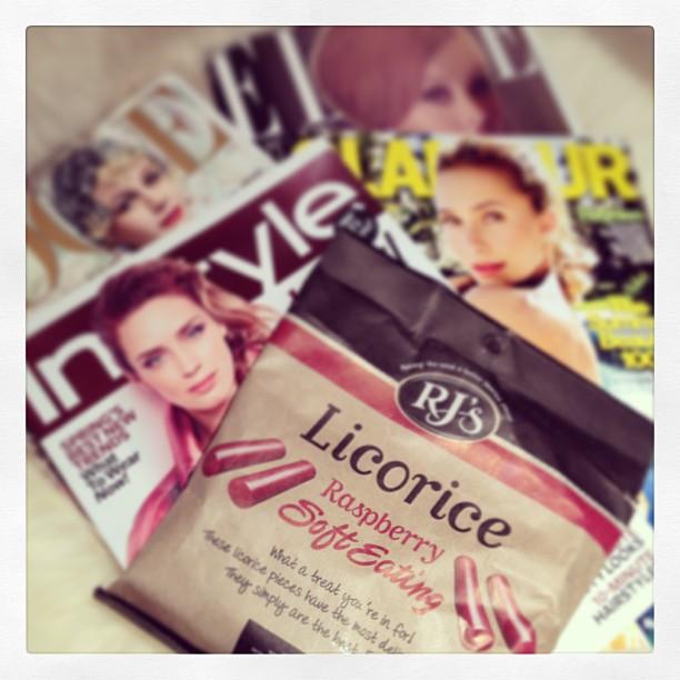 best licorice ever, fashion magazines