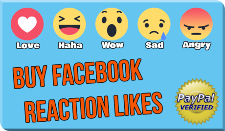 Get More Facebook Photo Post Video Reaction Likes