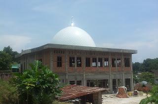 kubah masjid panel plat stainless steel harga murah agen pengrajin