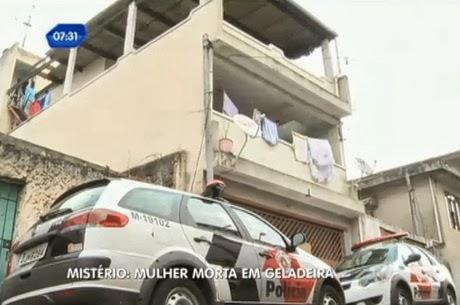 São Paulo: Mulher é encontrada morta dentro da geladeira