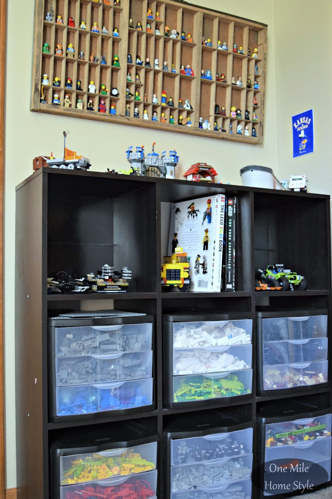 Simple And Smart Nail Art Ideas: Simple (and Decorative) Lego Storage