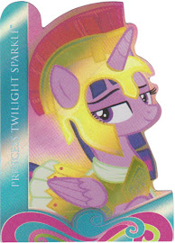 My Little Pony Princess Twilight Sparkle Series 4 Trading Card